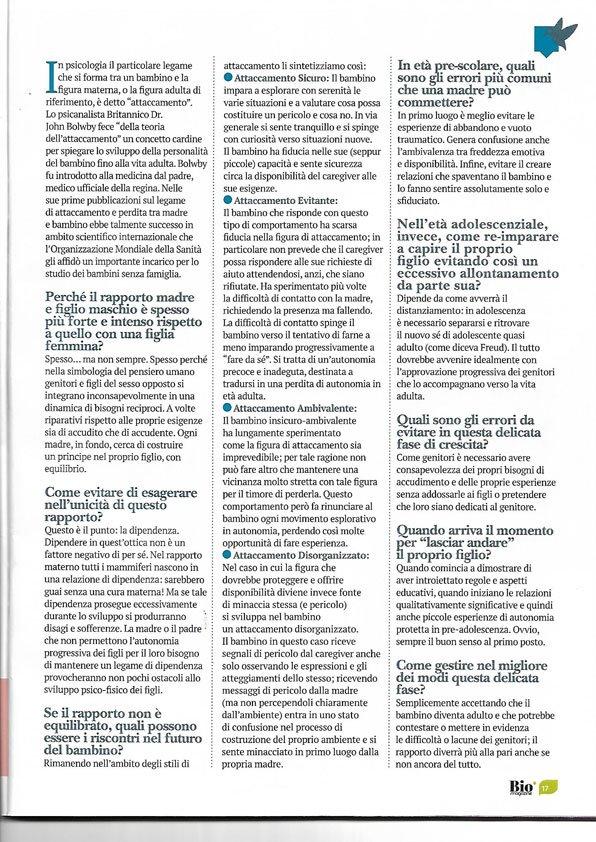 Attaccamento Dottor Canil Psicologo Treviso